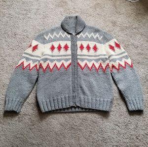 Vintage 90s Handmade Wool Sweater Heavy
